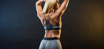 Лучшие упражнения для женщин с гантелями для красивой спины