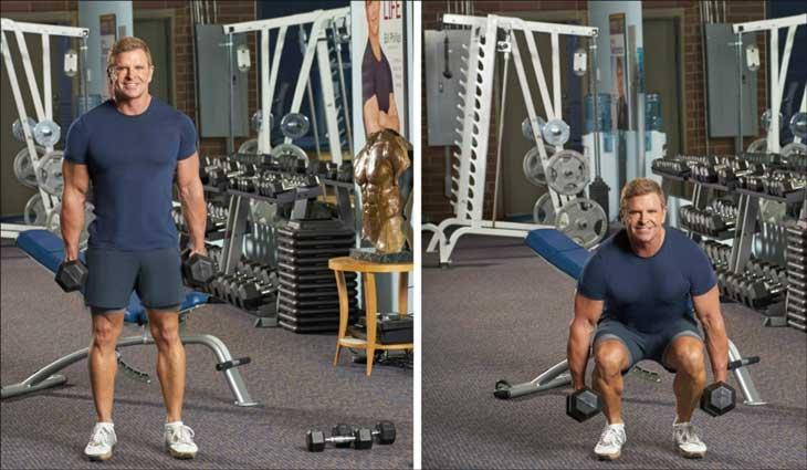 работа дома для всех групп мышц