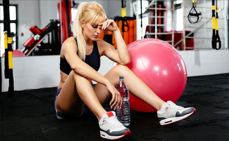 Можно ли ходить на фитнес при месячных 7