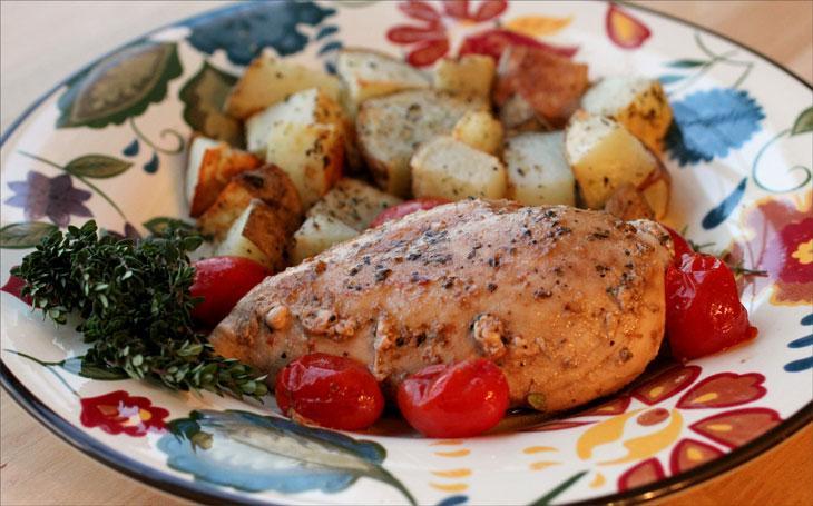 Топ 3 низкокалорийных, но вкусных рецепта из куриной грудки и овощей в мультиварке