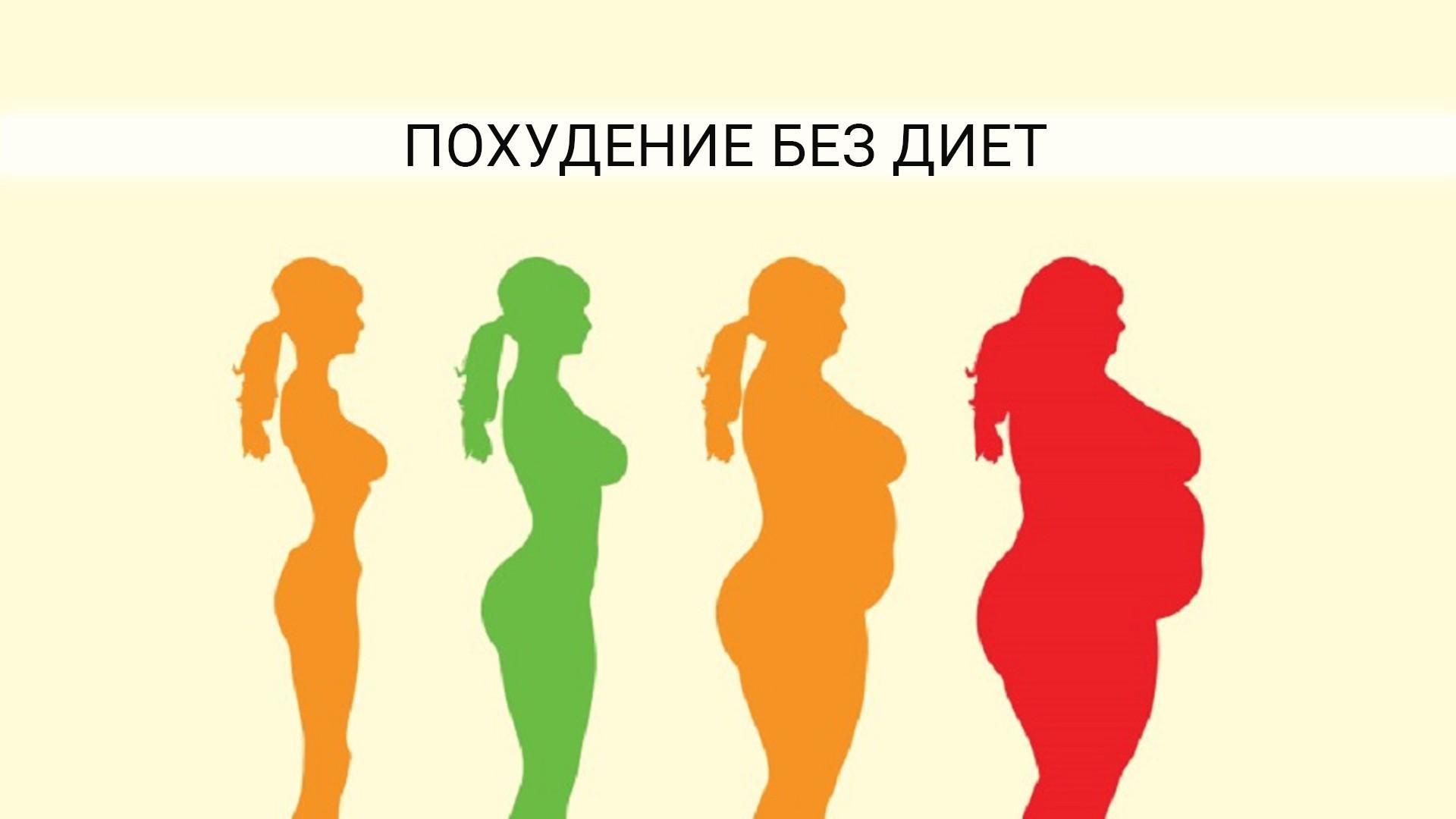 Похудеть без тренировок