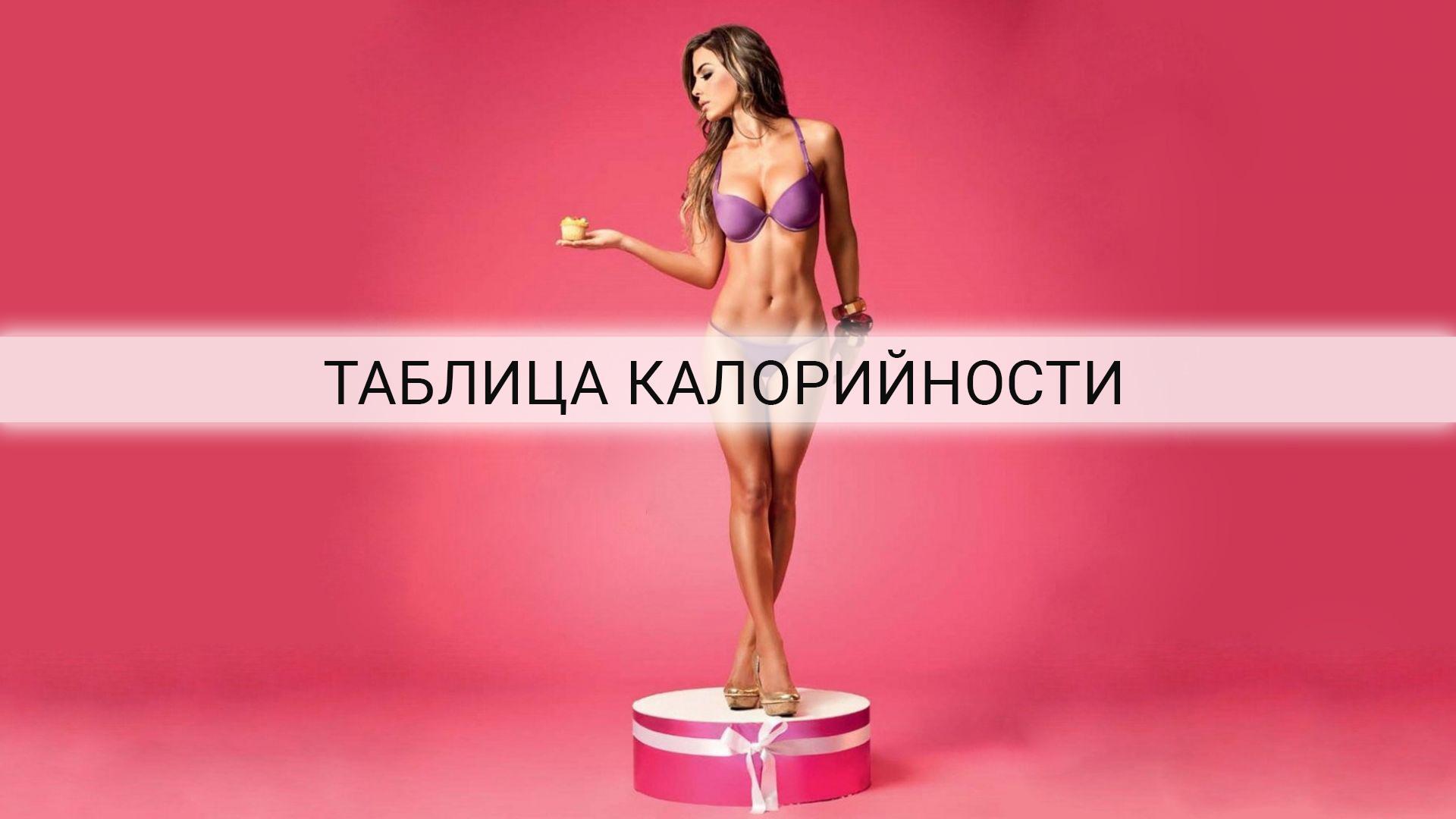 Как расчитать калории