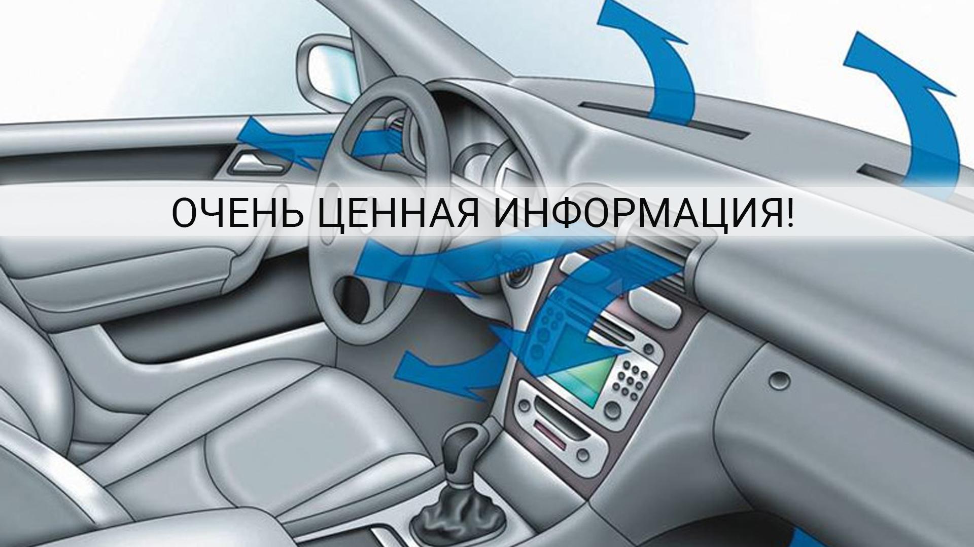 Вред автомобильного кондиционера