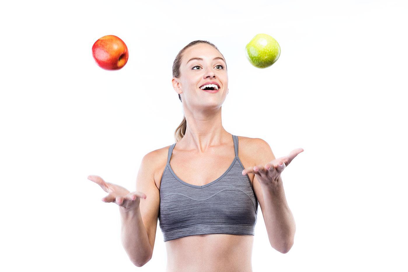 Похудение на яблоках